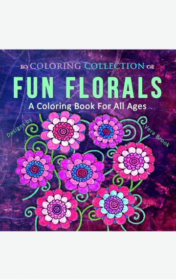 Fun Florals: A Coloring Book