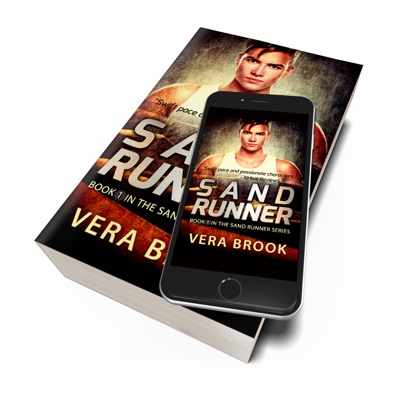 SAND RUNNER by Vera Brook as ebook and paperback